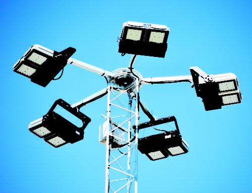 Smålandshamnar Oskarshamn – Först i Sverige med Titan LED mastbelysning
