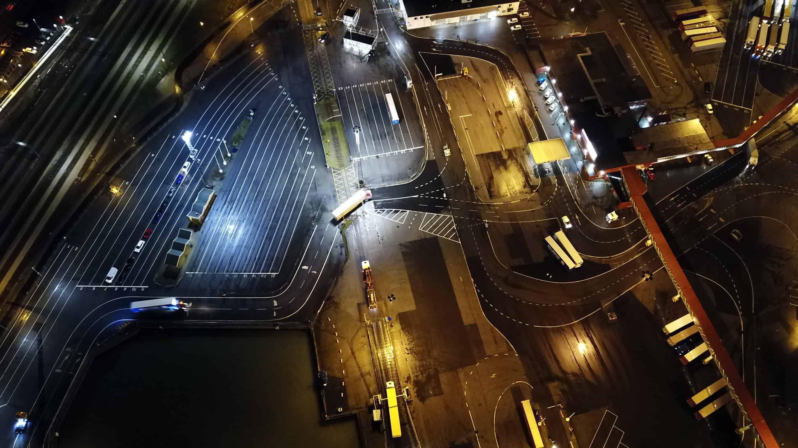 Ystad Hamn väljer Titan mastbelysning
