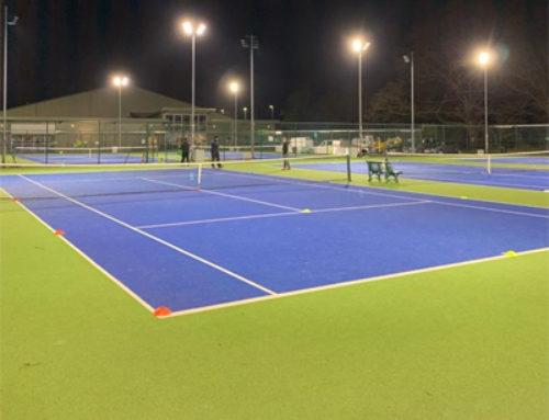 Thongsbridge Tennis Club väljer Modus R