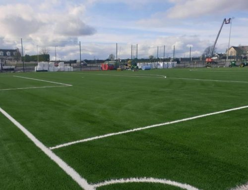 Rosegreen Community Development väljer Modus R för belysning av fotbollsplan